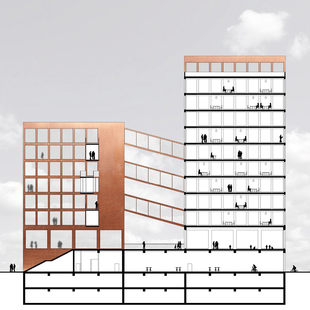 Entwerfen 4 – Institut für Gebäudelehre und Wohnbau