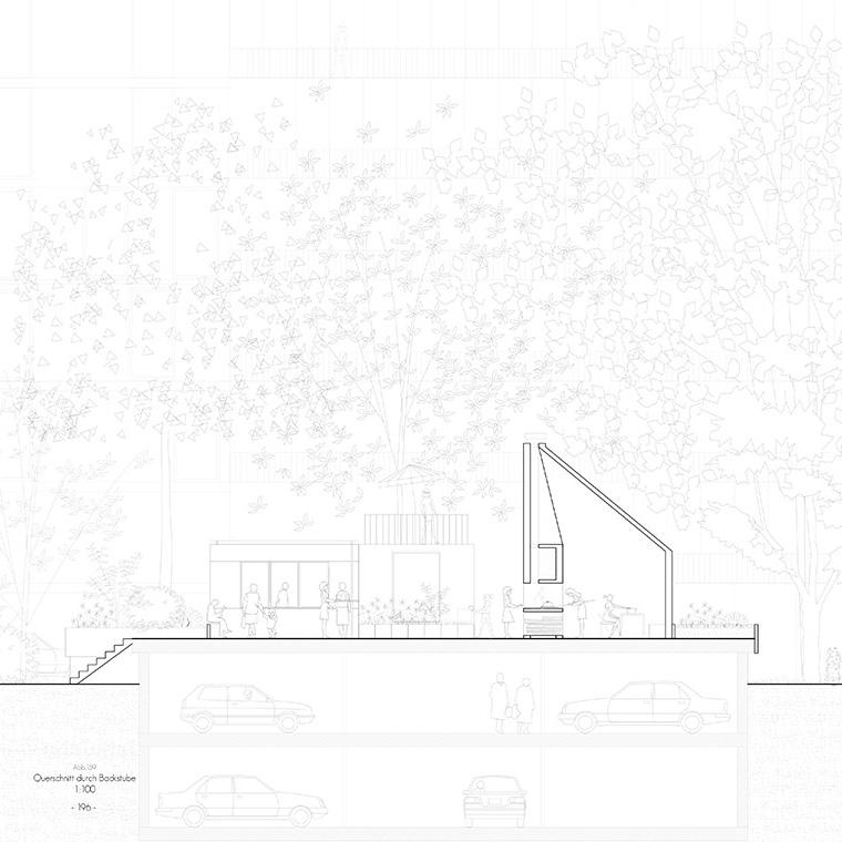 Diplom institut f r geb udelehre und wohnbau for Masterarbeit architektur